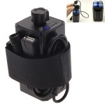 Θήκη μπαταριών για 4Χ 18650 Μπαταρίες 8.4V και USB (Αδιάβροχη)