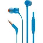 Ακουστικά JBL ψείρες hands free T110 Λευκό-Μαύρο-Κόκκινο-Μπλε