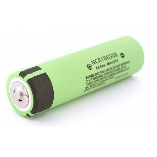 Επαναφορτιζόμενη μπαταρία 18650 Panasonic NCR18650B - 3400mAh/3.7V