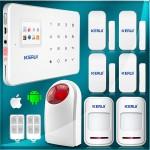 Ασύρματος Συναγερμός GSM με SIM + WIFI + Android app Pack2