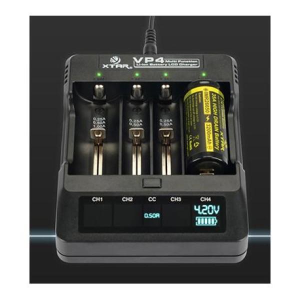 Φορτιστής  μπαταριών Φορτιστής VP4 XTAR