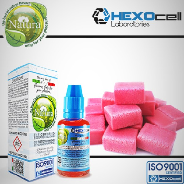 Τσιχλόφουσκα-Eliquid Hexocell 30ml