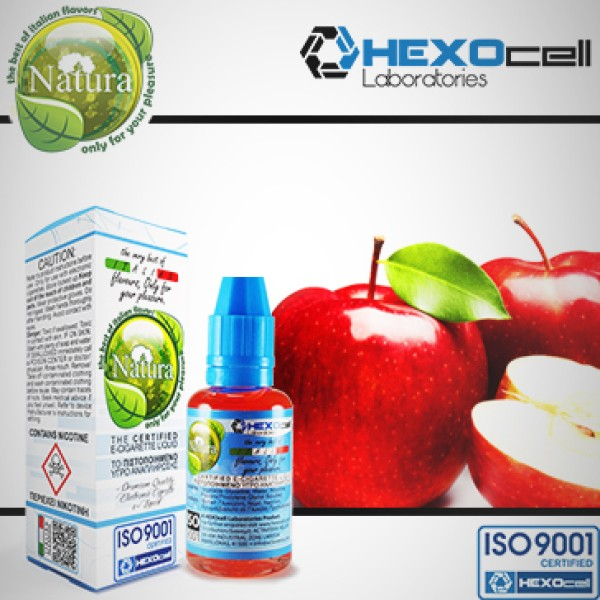 Μήλο-Eliquid Hexocell 30ml