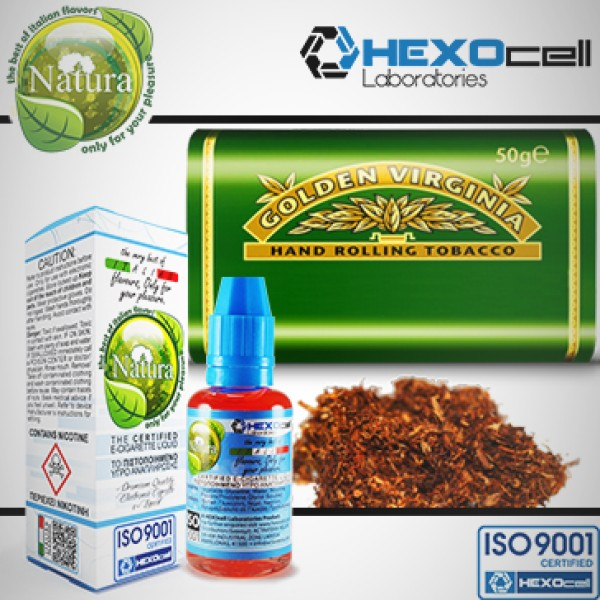 Virginia-Eliquid Hexocell 30ml
