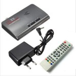 Smart TV Box TV Tuner 1080P HD DVB-T2/T TV Box με HDMI USB και VGA AV Tuner Receiver