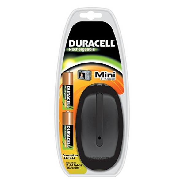 Φορτιστής DURACELL Mini charger CEF20+2HR6 2AA