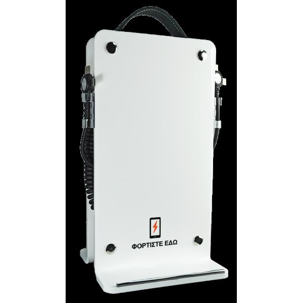 Επιτραπέζιος Ηλιακός Φορητός Φορτιστής 4Power Λευκό