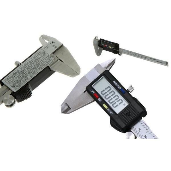 """Ηλεκτρονικό ψηφιακό παχύμετρο ακριβείας - 150mm (6"""")"""