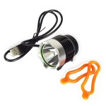 LED Εμπρός Φως Ποδηλάτου Τ6  USB