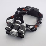 Φακός κεφαλής CREE XM-L T6+4xQ5 LED με 4 λειτουργίες - 12000Lm