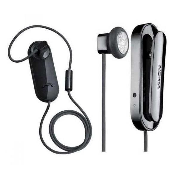 Bluetooth ακουστικό NOKIA CLIP BH-118, Black