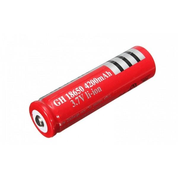 Επαναφορτιζόμενη μπαταρία 18650 UltraFire GH 18650 4200mAh 3.7V li-ion